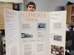 Nathaniel K. shares his poster highlighting Alexandria House